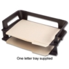 Eldon Side Load Letter Tray Black 63520