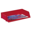 5 Star Wide Entry Letter Tray Red