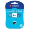 Verbatim MicroSDHC Memory Card 4GB 44002