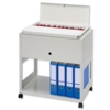 Universal Filing Trolley Large Gry